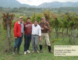 Da sinistra verso destra: Giuseppe e Filippo Pica, Carmine Valentino e Arsenio Pica